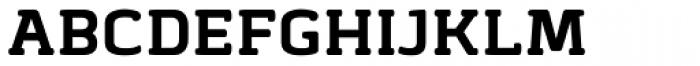Abula Organic Bold Font UPPERCASE