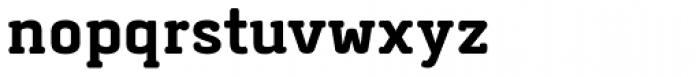 Abula Organic Bold Font LOWERCASE