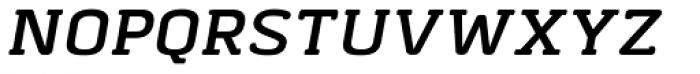 Abula Organic Italic Font UPPERCASE
