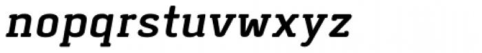 Abula Organic Italic Font LOWERCASE
