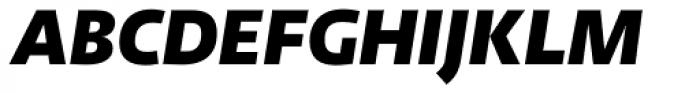 abc Allegra Black Italic Font UPPERCASE