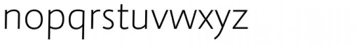 abc Allegra Light Font LOWERCASE