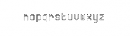 ABS Plus 6 Font LOWERCASE