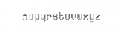 ABS Plus 7 Font LOWERCASE