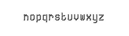 ABS Plus 9 Font LOWERCASE