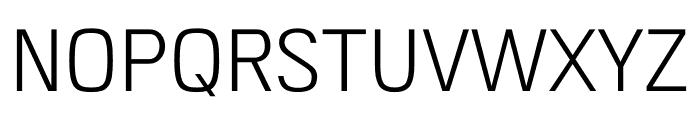 Access Light Font UPPERCASE