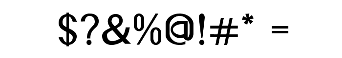 Accordion-Bold Font OTHER CHARS