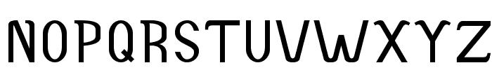 Accordion-Bold Font UPPERCASE
