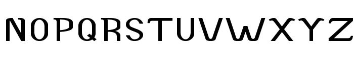 Accordion-ExpandedBold Font UPPERCASE