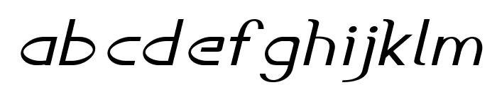 Accordion-ExpandedItalic Font LOWERCASE