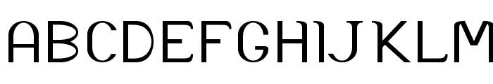 Accordion-ExpandedRegular Font UPPERCASE