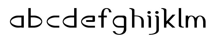 Accordion-ExpandedRegular Font LOWERCASE