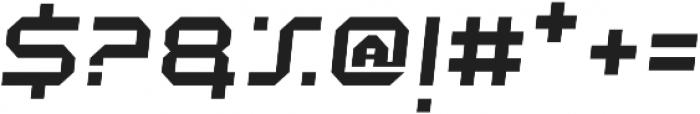 Academy Regular Italic otf (400) Font OTHER CHARS