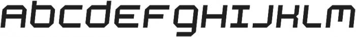 Academy Regular Italic otf (400) Font UPPERCASE