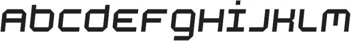 Academy Regular Italic otf (400) Font LOWERCASE