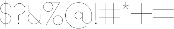 Acapulco Bold otf (700) Font OTHER CHARS
