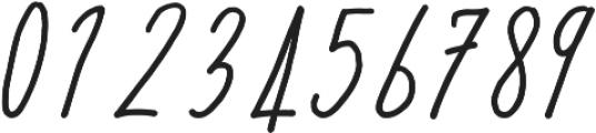 Acarita otf (400) Font OTHER CHARS