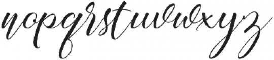 Acasia Regular ttf (400) Font LOWERCASE