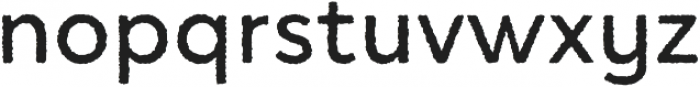Access Distorted otf (400) Font LOWERCASE