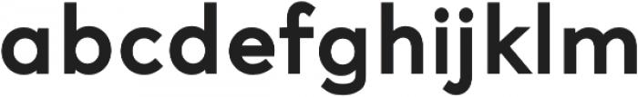 Access ExtraBold otf (700) Font LOWERCASE