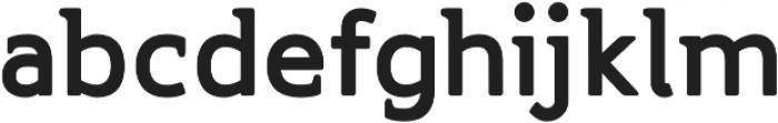 Accessible Font Black v.5 otf (900) Font LOWERCASE