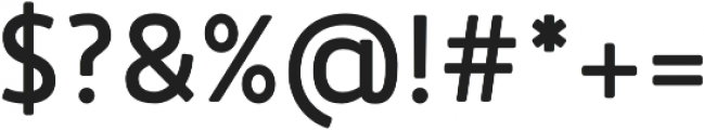 Accessible Font Bold v.5 otf (700) Font OTHER CHARS