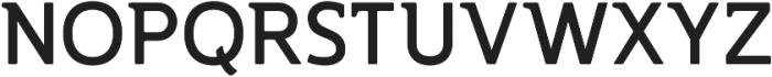 Accessible Font Bold v.5 otf (700) Font UPPERCASE