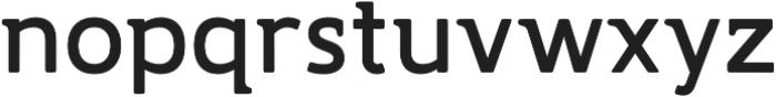 Accessible Font Bold v.5 otf (700) Font LOWERCASE