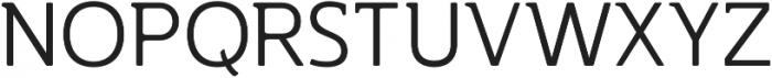 Accessible Font Light v.5 otf (300) Font UPPERCASE
