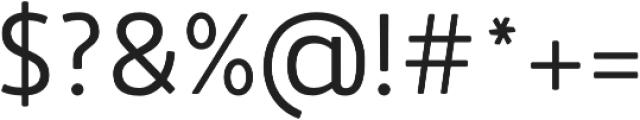Accessible Font Normal v.5 otf (400) Font OTHER CHARS