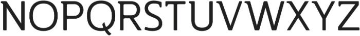 Accessible Font Normal v.5 otf (400) Font UPPERCASE