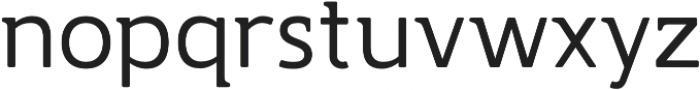 Accessible Font Normal v.5 otf (400) Font LOWERCASE