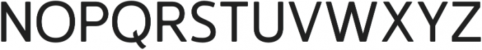 Accessible Font Regular v.4 otf (400) Font UPPERCASE