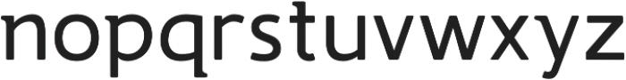 Accessible Font Regular v.4 otf (400) Font LOWERCASE