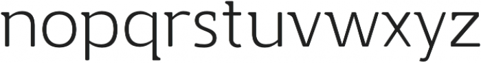 Accessible Font Thin v.5 otf (100) Font LOWERCASE