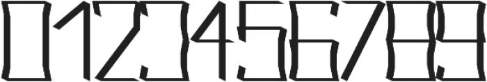 Acclaim regular otf (400) Font OTHER CHARS