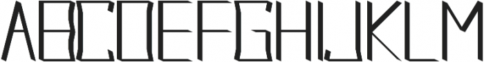 Acclaim regular otf (400) Font UPPERCASE