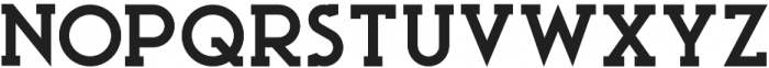 Ace Serif ExtraBold otf (700) Font UPPERCASE