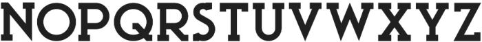 Ace Serif ExtraBold otf (700) Font LOWERCASE