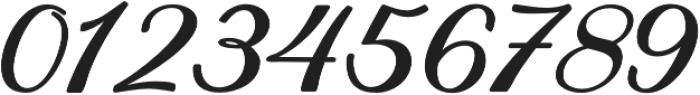 Achelan Script otf (400) Font OTHER CHARS