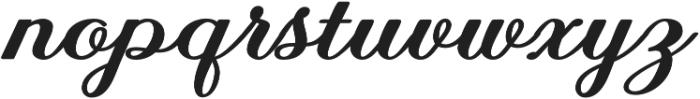 Achelan Script otf (400) Font LOWERCASE