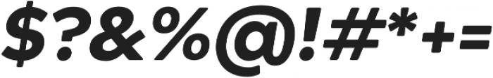 Acherus Grotesque Black Italic otf (900) Font OTHER CHARS
