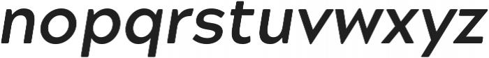 Acherus Grotesque Bold Italic otf (700) Font LOWERCASE