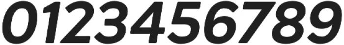 Acherus Grotesque ExtraBold Italic otf (700) Font OTHER CHARS