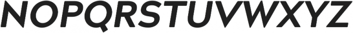 Acherus Grotesque ExtraBold Italic otf (700) Font UPPERCASE