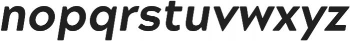 Acherus Grotesque ExtraBold Italic otf (700) Font LOWERCASE
