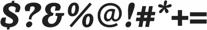 Achille FY Black Italic otf (900) Font OTHER CHARS