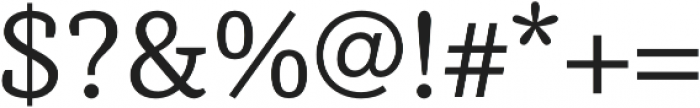 Achille FY Regular otf (400) Font OTHER CHARS