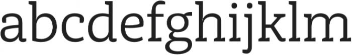 Achille FY Regular otf (400) Font LOWERCASE