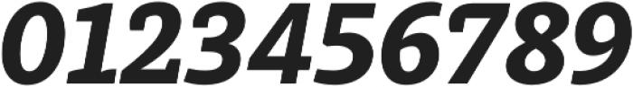 Achille II Cyr FY Black Italic otf (900) Font OTHER CHARS
